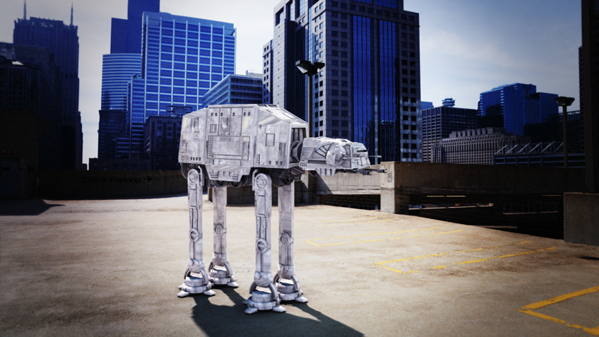 AT-AT Composite